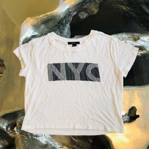Forever 21 NYC crop top